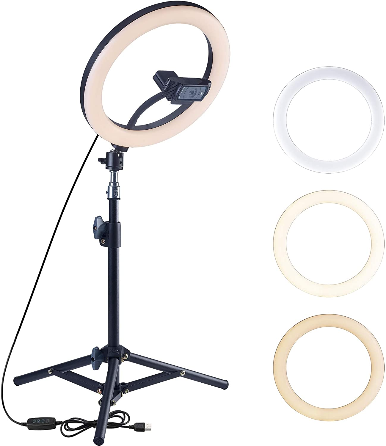 Dimmable Ring Light Image